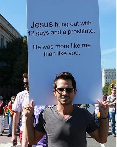 With the legalization of gay marriage all over the place, we'll miss posters ...